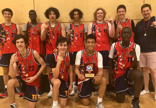 Year 8/9 Basketball Wins State Title