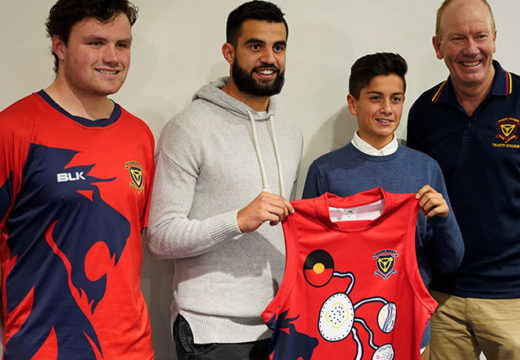 1st XVIII Indigenous Guernsey Launched