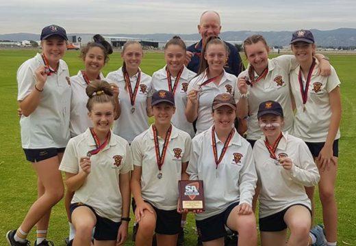 Trinity Girls Claim Third State Cricket Title