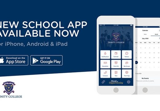 Download the New Trinity App!