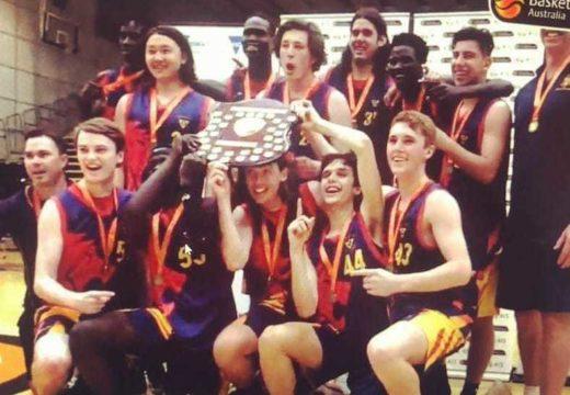 Trinity Wins Australian School Basketball Championships